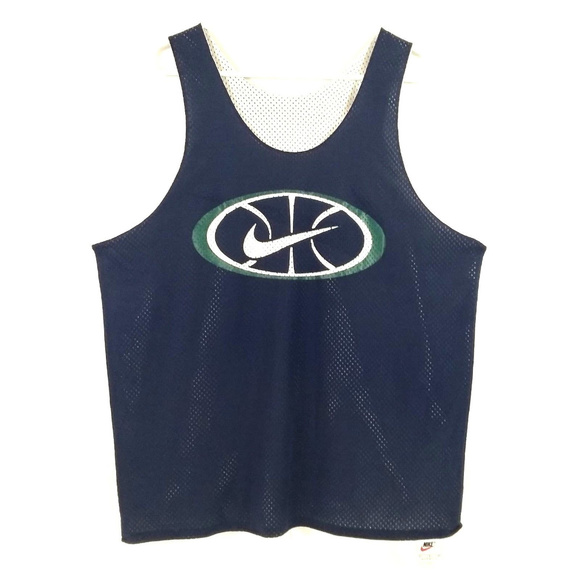 Nike basketball force reversible tank top size small LaiBVK